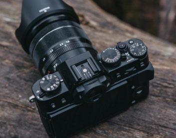 Ovladače fotoaparátu Fujifilm X-T20