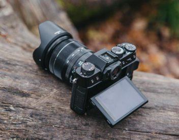 Výkloplný displej fotoaparátu Fujifilm X-T20