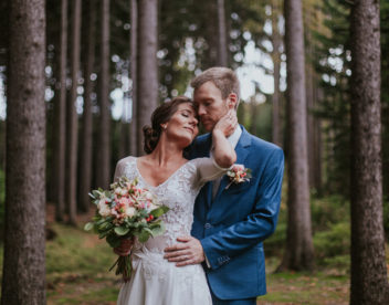 Romantický svatební portrét