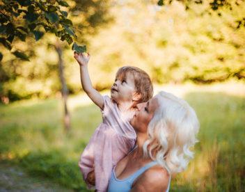 Fotografie maminky s dcerou