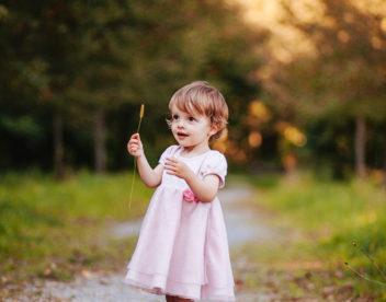 Portrét malé holčičky