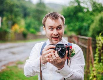 Ženich fotografem