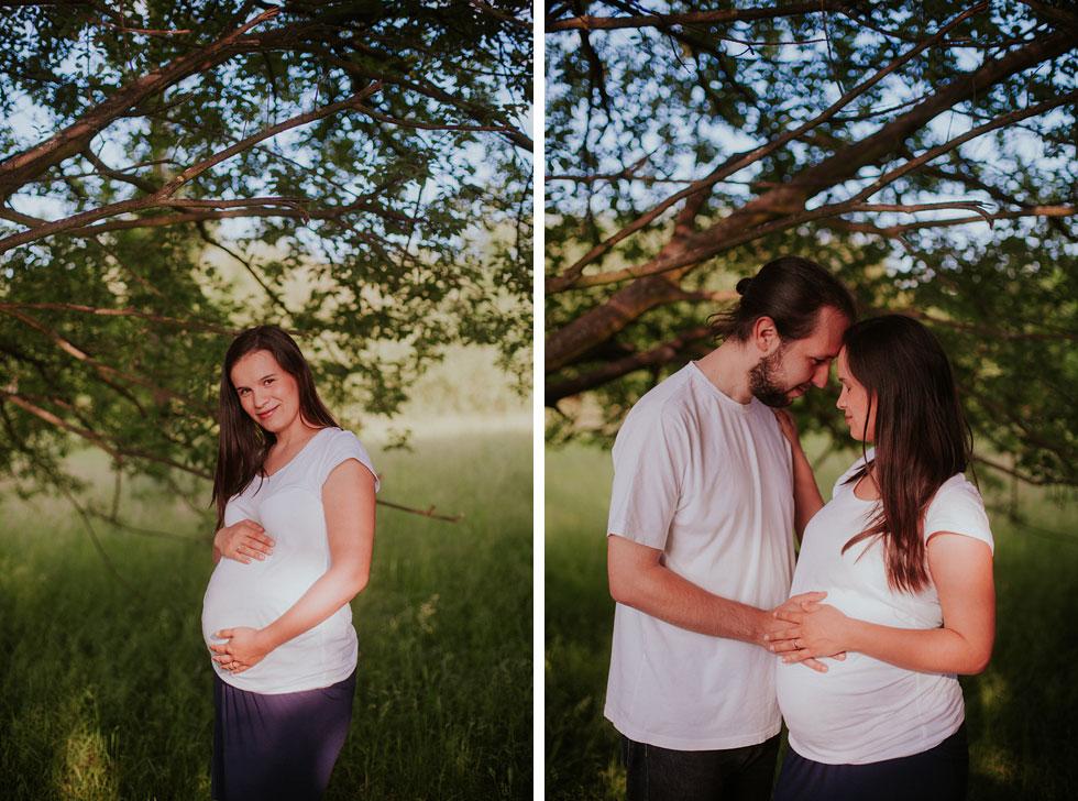 Dvojitý těhotenský portrét