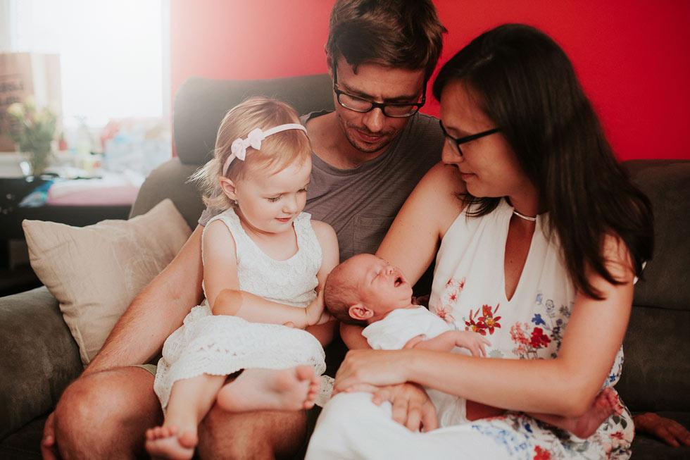 Rodinné focení s miminkem