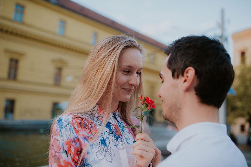 Předsvatební focení v Olomouci