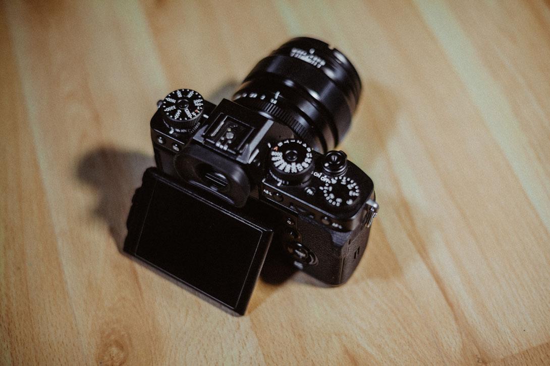 Fotoaparát Fujifilm X-T3 s vyklopeným displejem